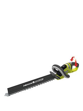Ryobi Oht1855R 18Volt One&Trade Cordless Hedge Trimmer  Without One&Trade Battery