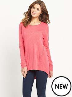 south-soft-touch-curve-hem-tunic