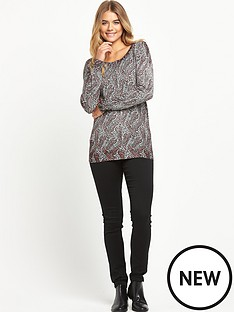 south-zip-back-paisley-print-jumper