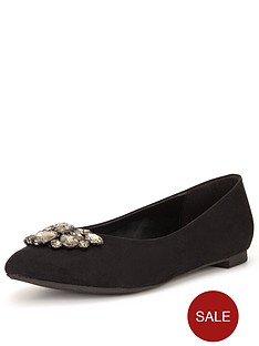 so-fabulous-sapphira-jewelled-point-flat-shoe-extra-wide-fit