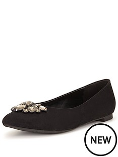so-fabulous-so-fabulousampnbspsapphira-jewelled-point-flat-shoe-extra-wide-fit