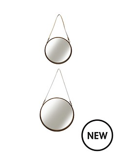 set-of-2-round-mirrors-with-leather-strap