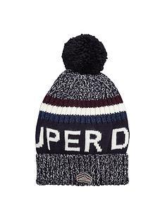 superdry-super-g-logo-beanie