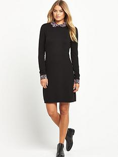 south-scallop-collar-dress
