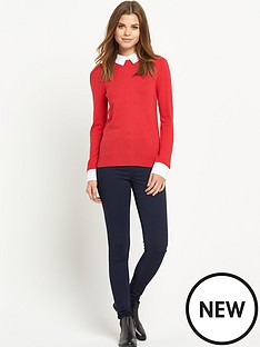 south-shirt-collar-jumper