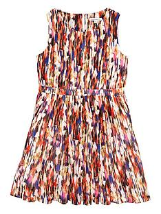 french-connection-printed-pleat-dress