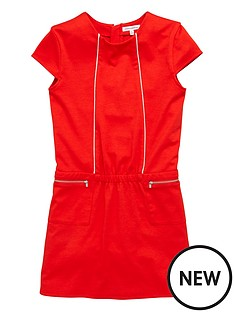 french-connection-girls-zip-shift-dress