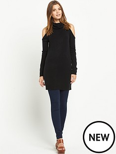 south-cold-shoulder-roll-neck-tunic