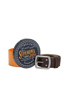 superdry-distressed-leather-belt-in-a-box-brown