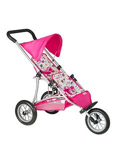 mamas-papas-double-decker-dolls-stroller--nbspflowers