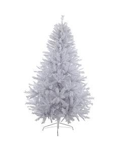 7ftampnbspwhite-regal-fir-christmas-treeampnbspwith-metal-stand