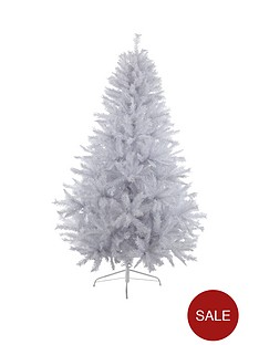 7ftnbspwhite-regal-fir-christmas-treenbspwith-metal-stand