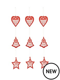 set-of-9-wooden-heart-tree-and-star-hanging-christmas-decorations
