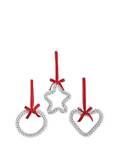 heart-circle-and-star-bell-christmas-tree-decorations-set-of-3