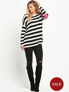 south-heart-elbow-patch-stripy-jumper