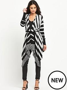 south-fringe-stripe-blanket-cardigan