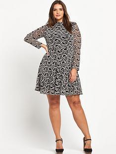 lovedrobe-high-neck-lace-dress