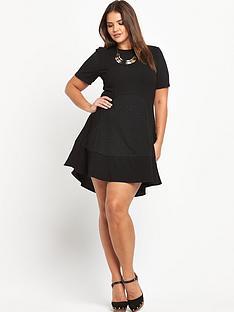 lovedrobe-textured-panelled-dress