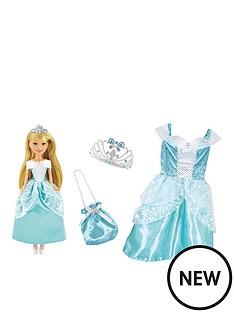 sparkle-girlz-sparkle-girlz-winter-princess-doll-with-matching-girls-costume