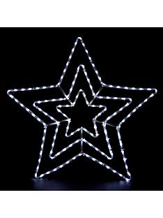 multifunction-white-led-star-outdoor-rope-light