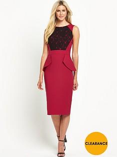 south-lace-peplum-dress