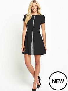 south-pleat-front-jacquard-insert-dress