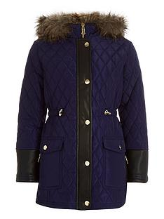 river-island-river-island-navy-long-line-padded-parka