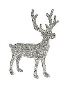silver-sparkle-standing-reindeer-decoration