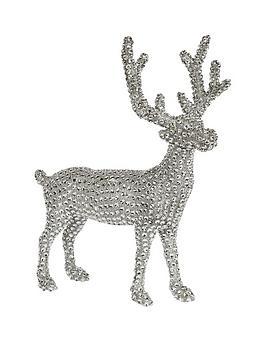 silver-sparkle-standing-reindeer-decoration