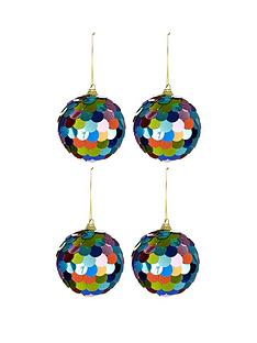 multi-coloured-sequin-christmas-baubles-ndash-set-of-4