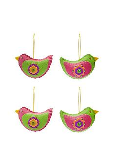 assorted-felt-bird-hanging-christmas-decorations-set-of-4