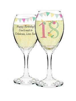 personalised-birthday-age-wine-glass