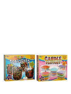 small-wonders-small-wonders-candle-factory-amp-decorate-mosaic-tea-lights-duo-pack