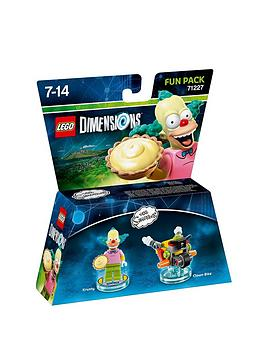 Lego Dimensions Fun Packs  The Simpsons  Krusty