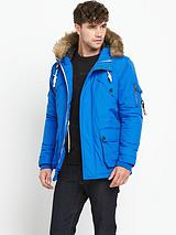 Excalibur Mens Parka – Blue