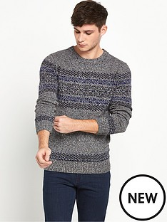 selected-selected-elias-crew-neck-jumper