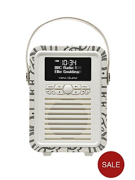 view-quest-emma-bridgewater-retro-mini-dab-radio-black-toast