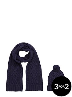 chunky-knit-hat-amp-scarf-set