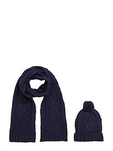 chunky-knit-hat-ampamp-scarf-set