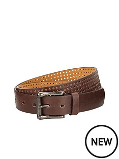 mens-perforated-pu-belt