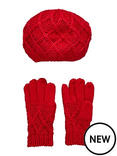 girls-gloves-and-beret-set-2-piece