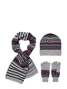 boys-fairislenbspstriped-scarf-hat-and-gloves-set-3-piece