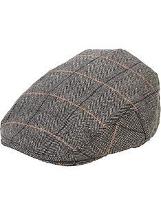 boys-check-flat-cap