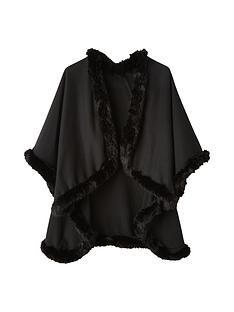 girls-fleece-and-faux-fur-trim-cape