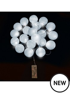 20-cotton-covered-ball-lights