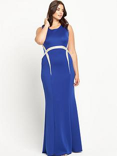 forever-unique-curve-olimpia-maxi-dress