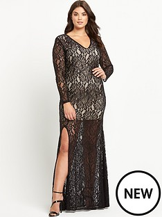 forever-unique-curve-kelsie-lace-maxi-dress