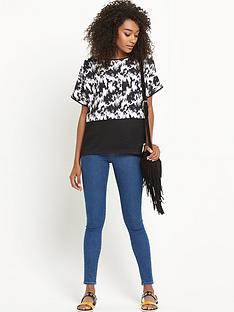 south-animal-contrast-top