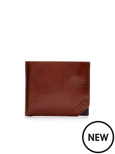 ted-baker-leather-contrast-corner-wallet