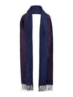 ted-baker-reversible-spot-scarf